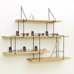 Shelving System LINK Set 2 | Oak Black
