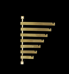 Coat Rack Seven | Brass