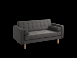 2-Zits Sofabed Topic Wood | Staal