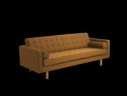 3 Seater Sofa Topic Wood | Honey