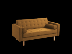 2 Seater Sofa Topic Wood | Honey