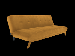 3 Seater Sofa Modes | Passion Fruit