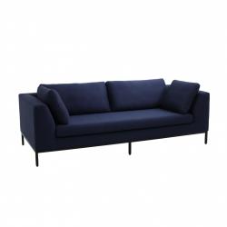 3-Sitzer-Sofa-Ambiente | Inkjet / Metall-Beine