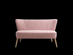 2-Sitzer-Sofa HARRY   Pink Meringue