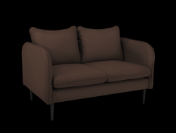 Sofa 2 Seater Posh | Brown