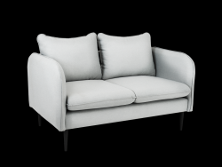 Sofa 2 Seater Posh | Platinum Grey