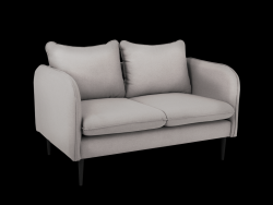 Sofa 2 Seater Posh | Steal Grey