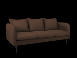 Sofa 3 Seater Posh | Brown