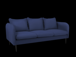 Sofa 3 Seater Posh | Blue