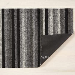 Fußmatte Shag Even Stripe 46 x 71 cm | Mineral