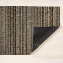 Fußmatte Shag Skinny Stripe 61 x 91 cm | Mushroom