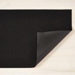 Fußmatte Shag Solid 46 x 71 cm | Schwarz