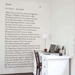 Tapete Shakespeare Sein oder Nichtsein | Medium