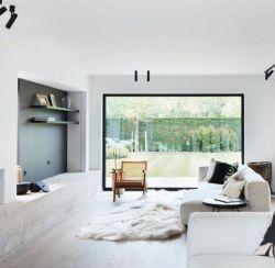 Schafsfell-Teppich-Patchwork | 200 x 150 cm | Weiß