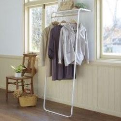 Coat Hanger Shelf | White