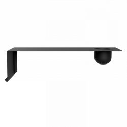 SHELVE01 W. BOWL | Black Left
