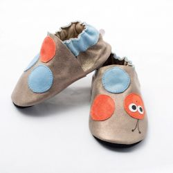 Shiny Worm Happy Softsole Shoes