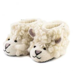 Children's Slippers Shirley Sheep | White