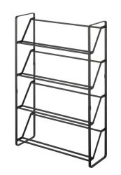 Shoe Rack Slim | Black