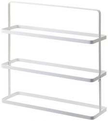 Shoe Rack Wide Tower | White