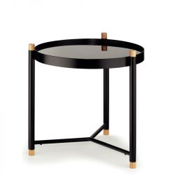 Side Table Low | Black