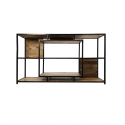 Open Shelf Unit 150 x 35 x 90 cm | Mango Wood