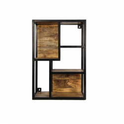 Wall Rack 50 x 20 x 75 cm | Mango Wood