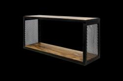 Wandregal Brixton 64x30 cm Mango-Holz