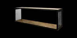 Wall Shelf Brixton 98x30 cm Mango Wood