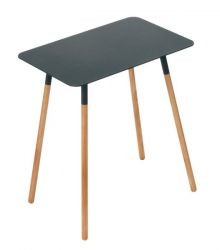 Side Table Square Plain | Black