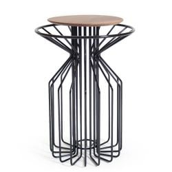 Amarant Side Table | Zwart