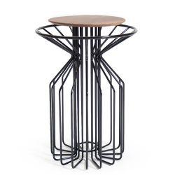 Amarant Side Table | Black
