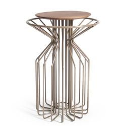 Amarant Side Table | Champagne