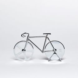 Coupe de Pizza The Fixie | Argent