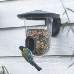 Vogelhuisje feedR | Grijs