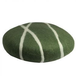 Cushion Sirani Stone XL | Green/White
