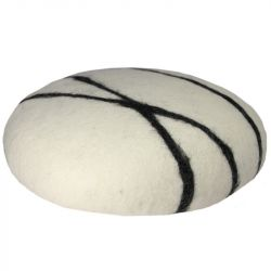 Cushion Sirani Stone | White/Black
