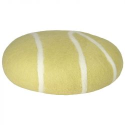 Cushion Sirani Stone | Beige/White