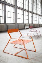 Slitta Stool Orange