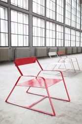 Slitta Stool Red