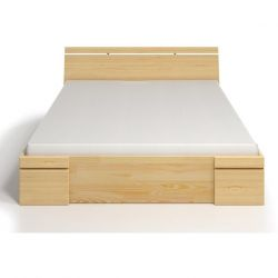 Wooden High Bed with 4 Drawers Sparta Maxi