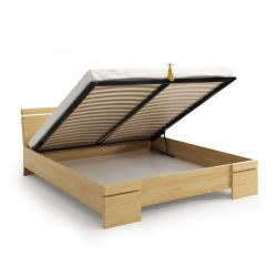 Wooden Bed with Storage Sparta Maxi
