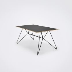 Table Sketch | Black Linoleum / Oak