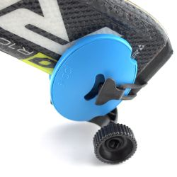 Mini Ski Trolley Skiddi | Blau