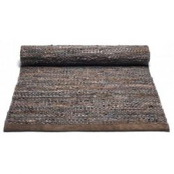 Leather Rug | Choco