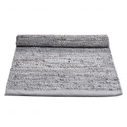 Leather Rug | Limestone