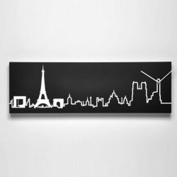 Skyline Clock | Paris