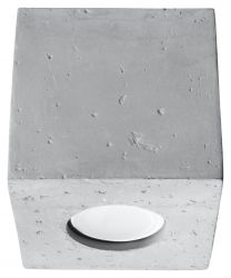 Ceiling Lamp Quad | Concrete