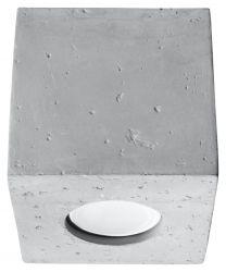 Deckenlampe Quad | Beton