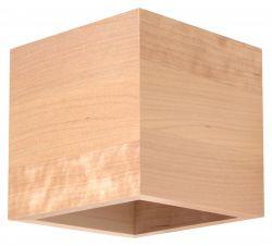 Wandleuchte Quad | Holz